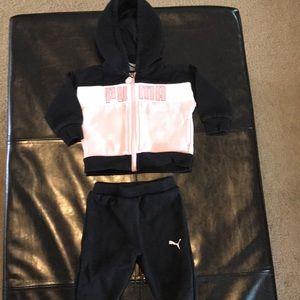c014f9d2bf36 Puma Matching Sets - Girls Puma Sweatsuit size 3-6 months